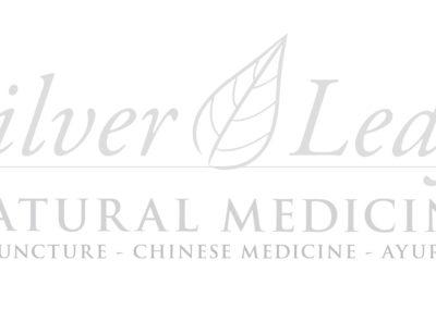 SILVER LEAF (Window Sign)